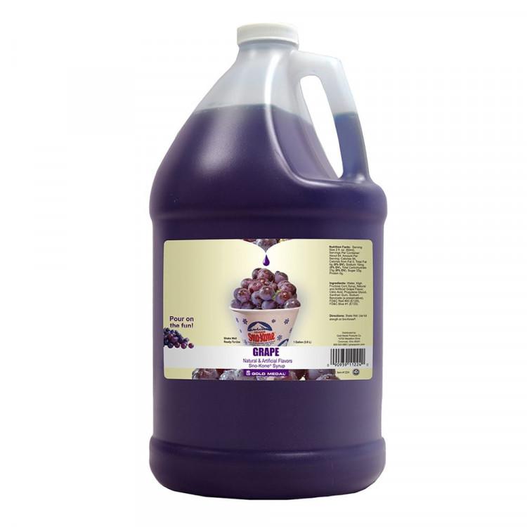 Grape Syrup     (Serves 100)