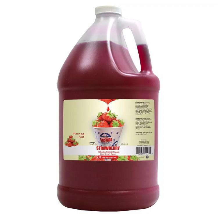 Strawberry Syrup     (Serves 100)
